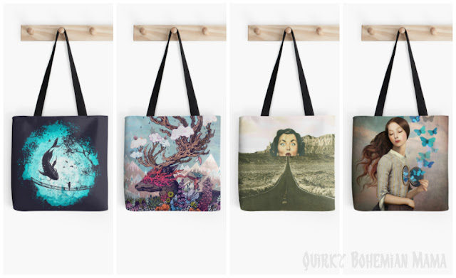 Original Surreal Art Tote Bags {Redbubble Tote Bags}. Unique tote bags.Unusual tote bags. Unusual purses. Surreal art accessories.  surreal clothing. quirky accessories. weird accessories.  quirky accessories.  canvas tote bag best tote bags for work. tote bags for school. tote bags for teachers. designer tote bags. art canvas tote bags. carrying case for art supplies. art portfolio bag. art supply messenger bag. artistic tote bags. unusual purses. vintage inspired handbags. unique handmade handbags. retro handbags. unique handbags cheap. weird purses for sale.