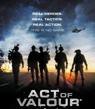 Poster Of Act of Valor 2012 In Hindi Bluray 720P Free Download