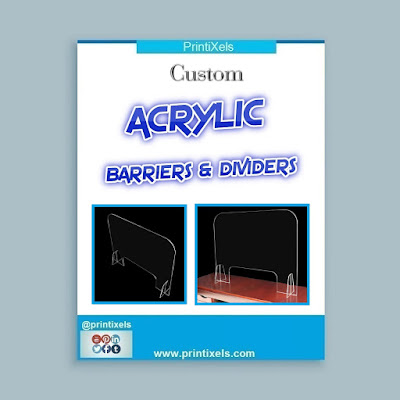 Custom COVID-19 Acrylic Barriers & Dividers Philippines