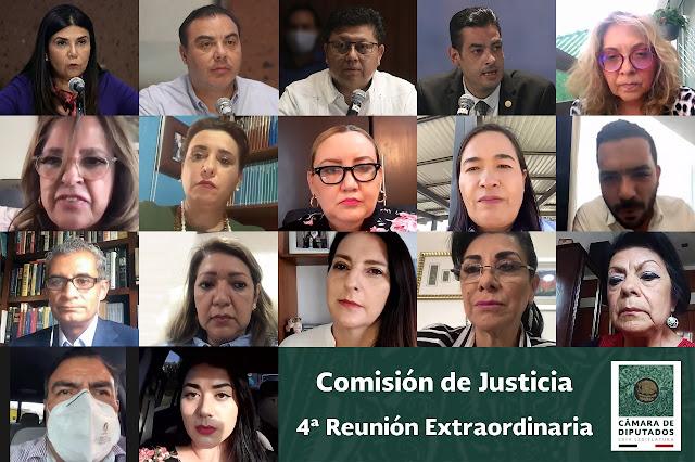 La Comisión de Justicia aprobó dictamen a la minuta que expide la Ley de la FGR