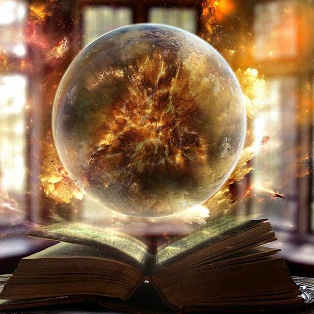 Magical Angel Book Wallpaper Engine