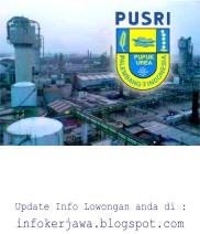 Lowongan Kerja PT Pupuk Sriwidjaja Palembang (PUSRI)