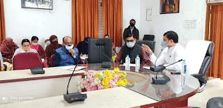 मतदाताओं का नाम जुड़वाने हेतु लक्ष्य निर्धारित कर बूथ लेवल अधिकारियों को बैठक ने दिए निर्देश