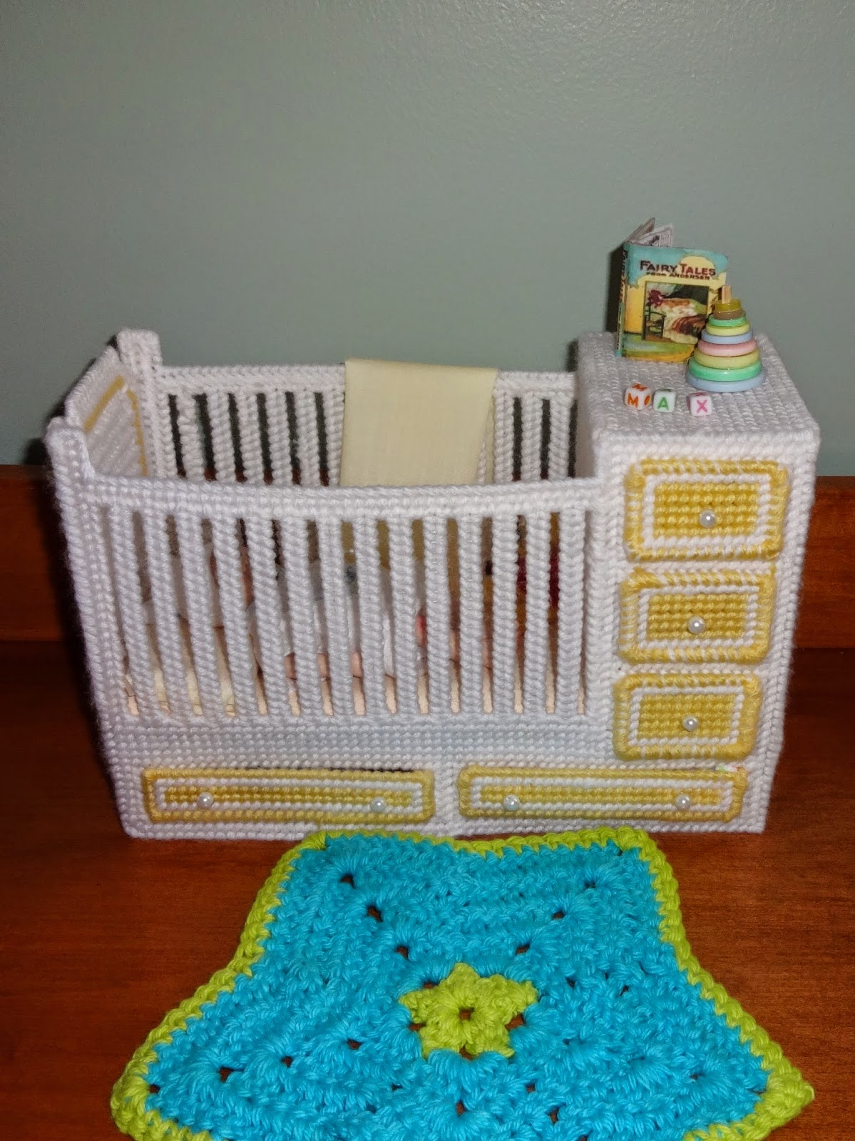 Crafty Kat Plastic Canvas Crib Mini Toys And Sewing For
