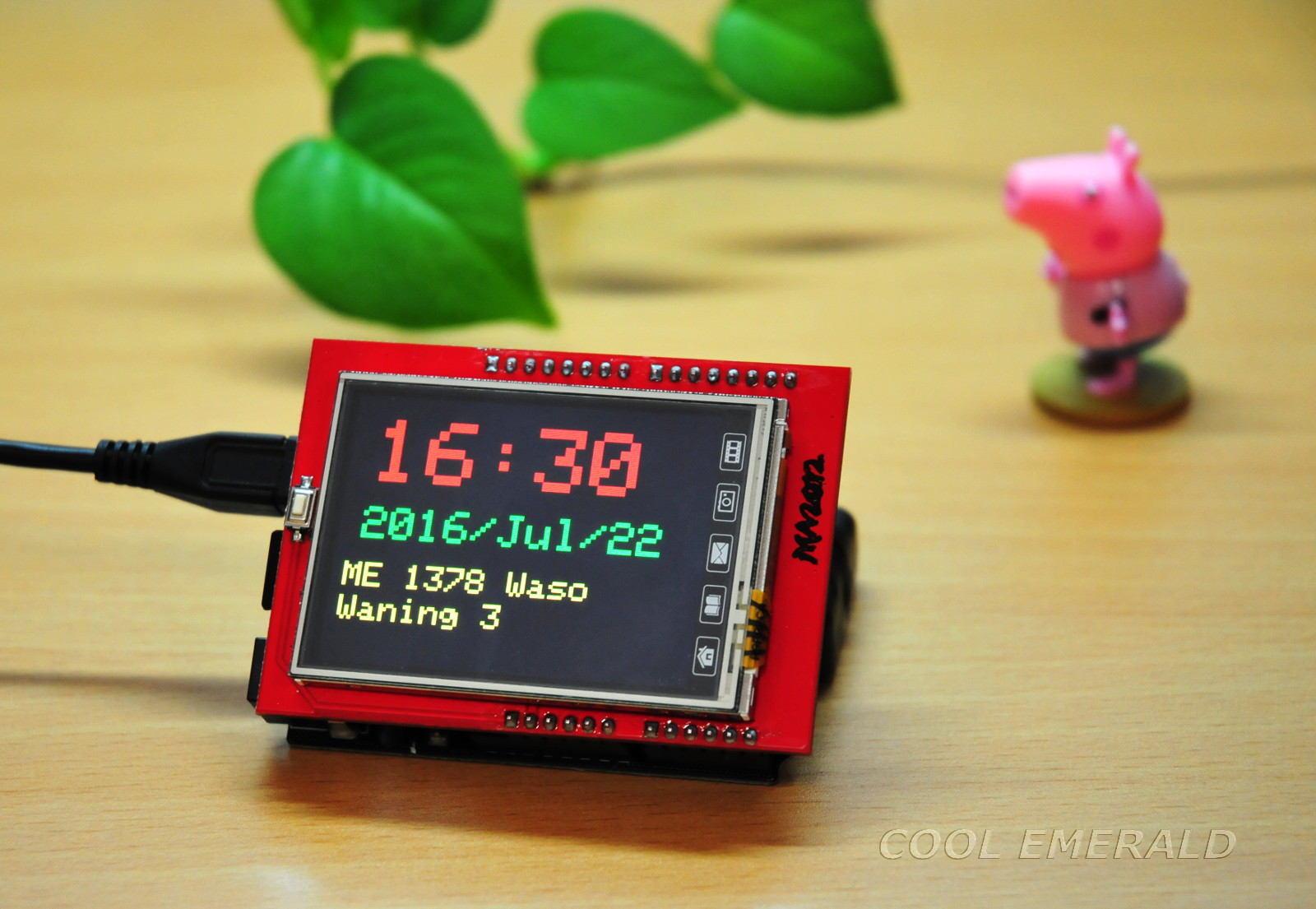 Cool Emerald: TFT LCD Touch Screen - ILI9341