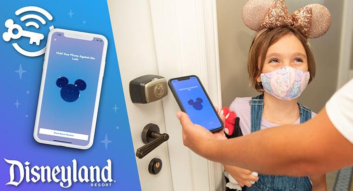 Llave digital en Disneyland