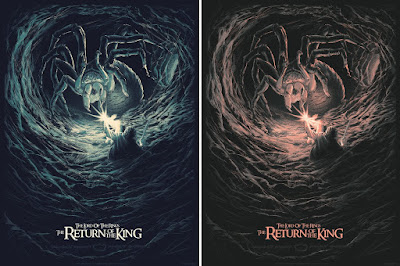 Lord of the Rings: The Return of the King Screen Print by Juan Esteban Rodriguez x Bottleneck Gallery