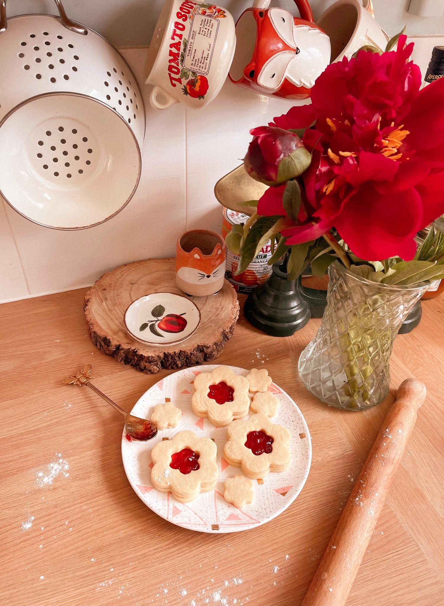 Jammy Dodger Flower Biscuit Recipe