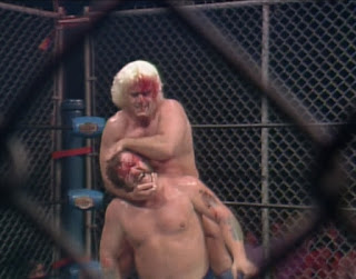 NWA Starrcade 83: A Flare for the Gold - Ric Flair battles Harley Race in their classic cage match