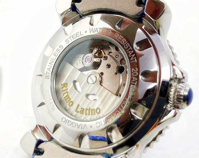 大阪 梅田 リトモラティーノ Ritmo Latino ビアッジョ Viaggio イタリア ファッション ウォッチ 腕時計遊び心溢れるデザインが魅力の【Ritmo Latino MILANO(リトモ ラティーノ ミラノ)】。 VIAGGIO(ビアッジョ)は、当ブランでは数少ない自動巻きであり、海と海の生物をモチーフにし、その風貌と機能で旅を表現したトラベルウォッチ。