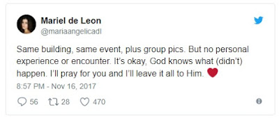Mariel de Leon Allegedly responds to the cryptic Facebook post of Mayor Sara Duterte