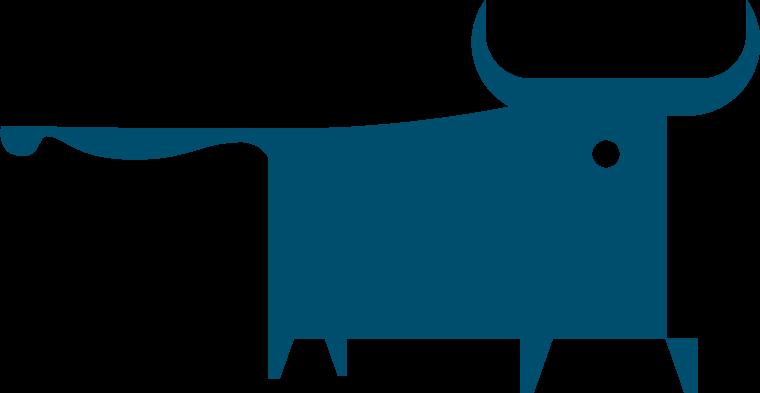 bull logo symbol