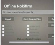 Offline Nokifirm Latest Updated Version 19.0 Free Download
