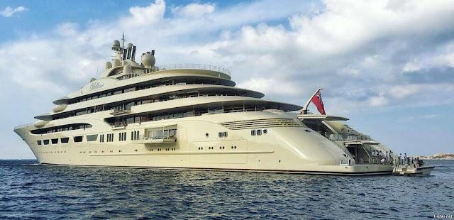 Яхта «Дилбар»