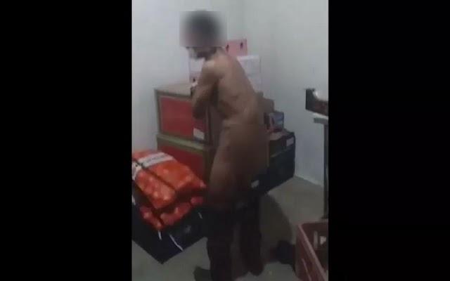 Jovem é chicoteado com fio elétrico após roubar supermercado