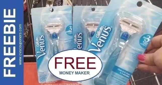 FREE Venus Razor CVS Couponers 7-11-7-17
