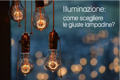 Illuminazione: come scegliere le giuste lampadine?
