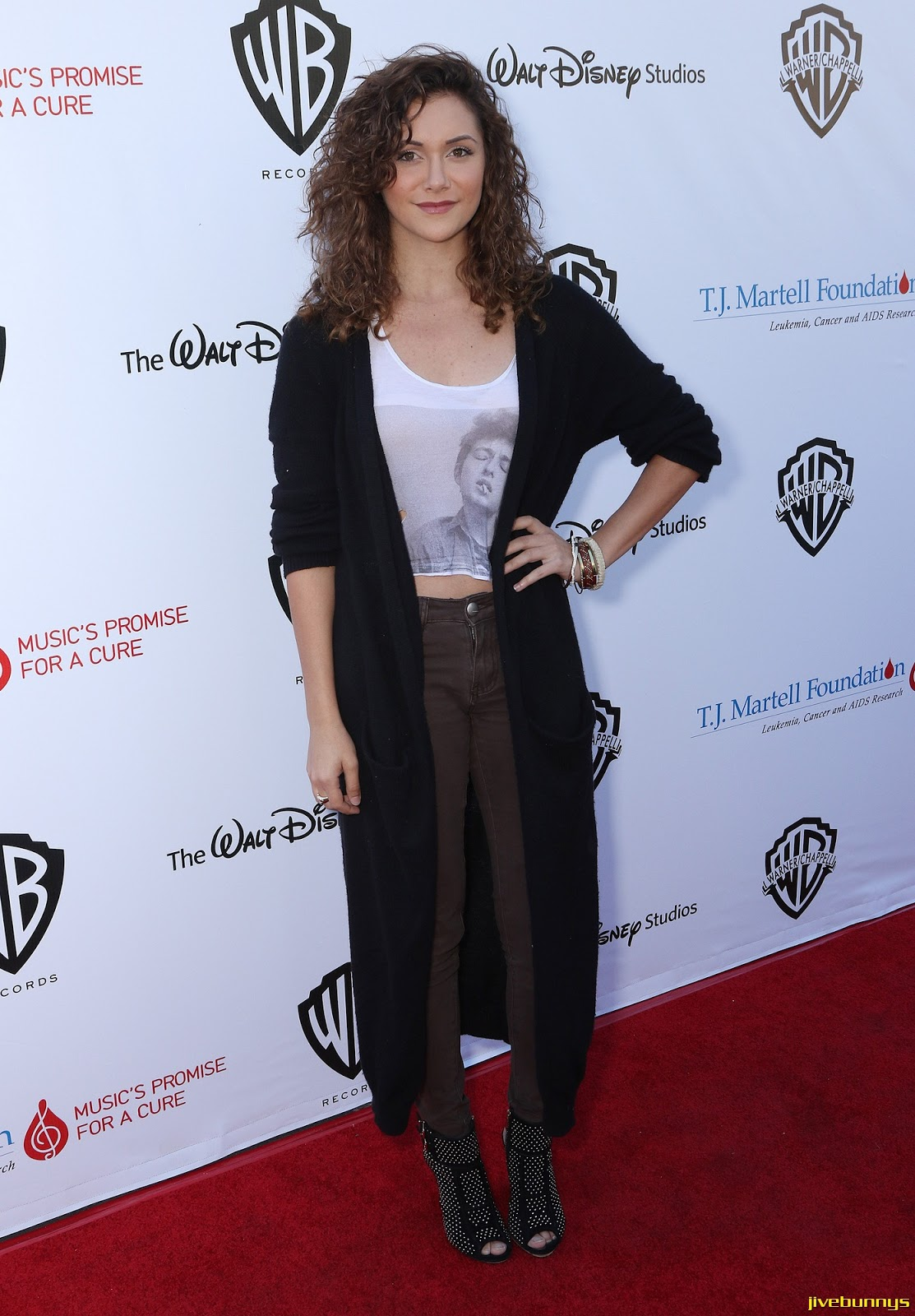 Alyson Stoner - T.J. Martell Foundation family day in Studio City 11/16/14