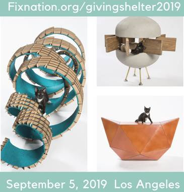 Top architect firms are coming together for a good cause; designing incredible cat shelters to benefit FixNation.