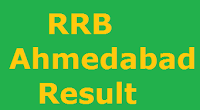RRB Ahmedabad Result