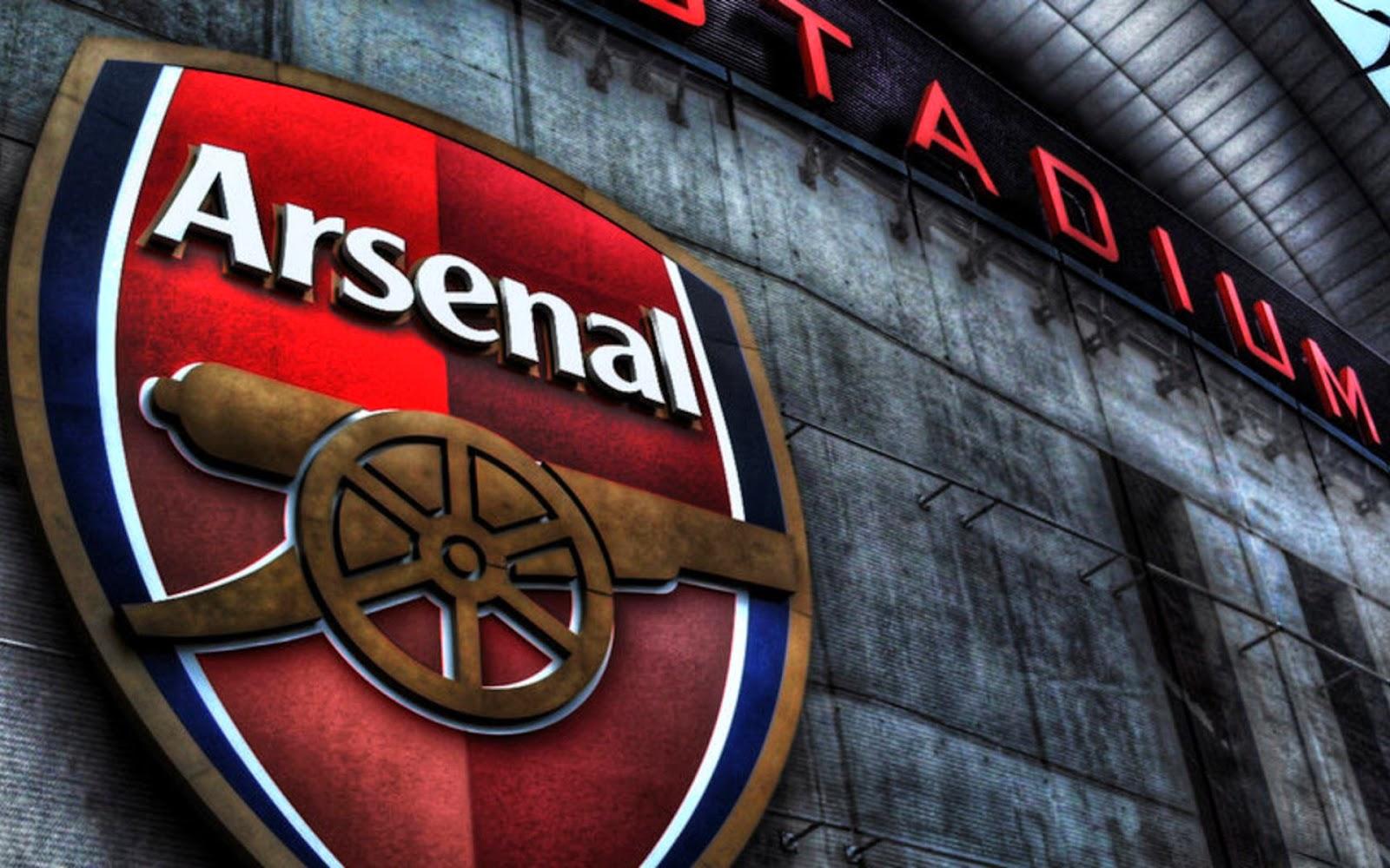hình nền máy tính logo arsenal