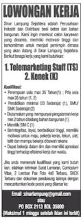 LOgo PT. Sinar Lampung Sejahtera