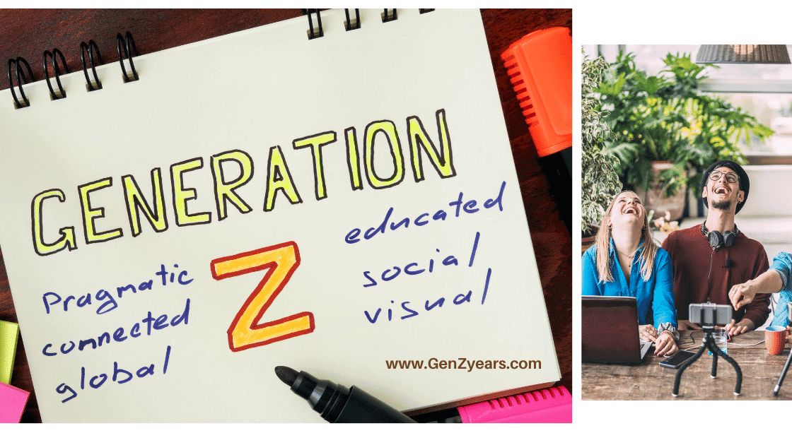 What are the main characteristics of Generation Z, Gen Z Features, Characsteristics of Zoomers