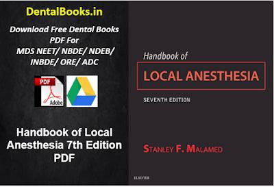Handbook of Local Anesthesia 7th Edition PDF