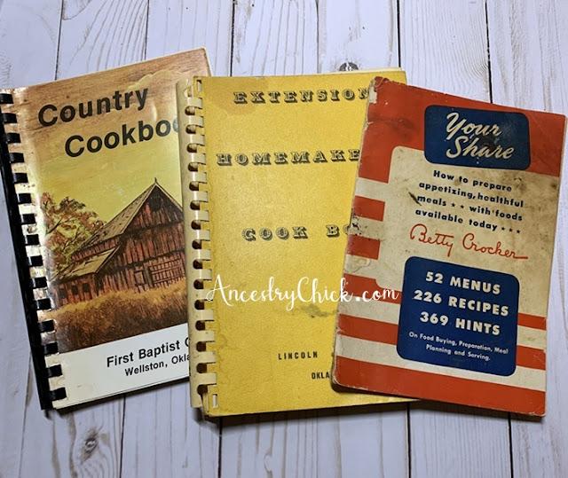 Grandma Kephart's Cookbooks - Ancestry Chick
