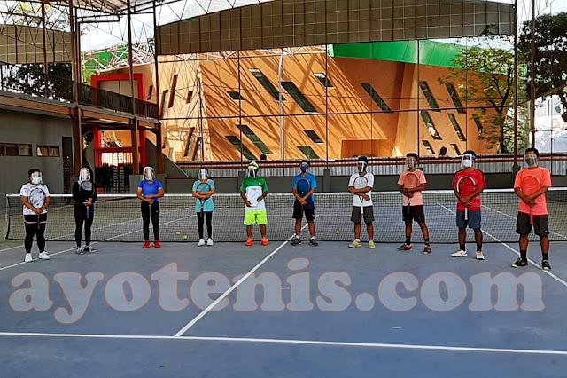Prof Tri Puas Dengan Hasil Latihan Atlet Tenis Jember