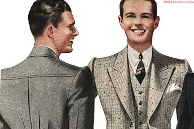1940s fashion mens