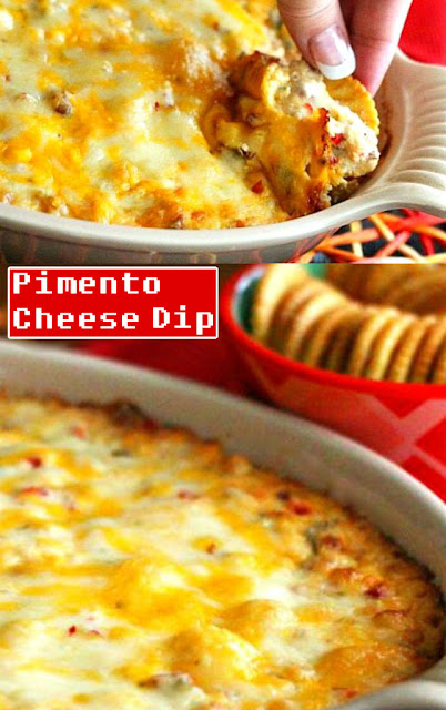 Very Delicious #Fully Loaded Hot Pimento #Cheese Dip #Recipe