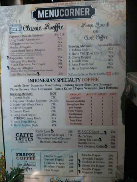 Harga Golden Heritage Koffie