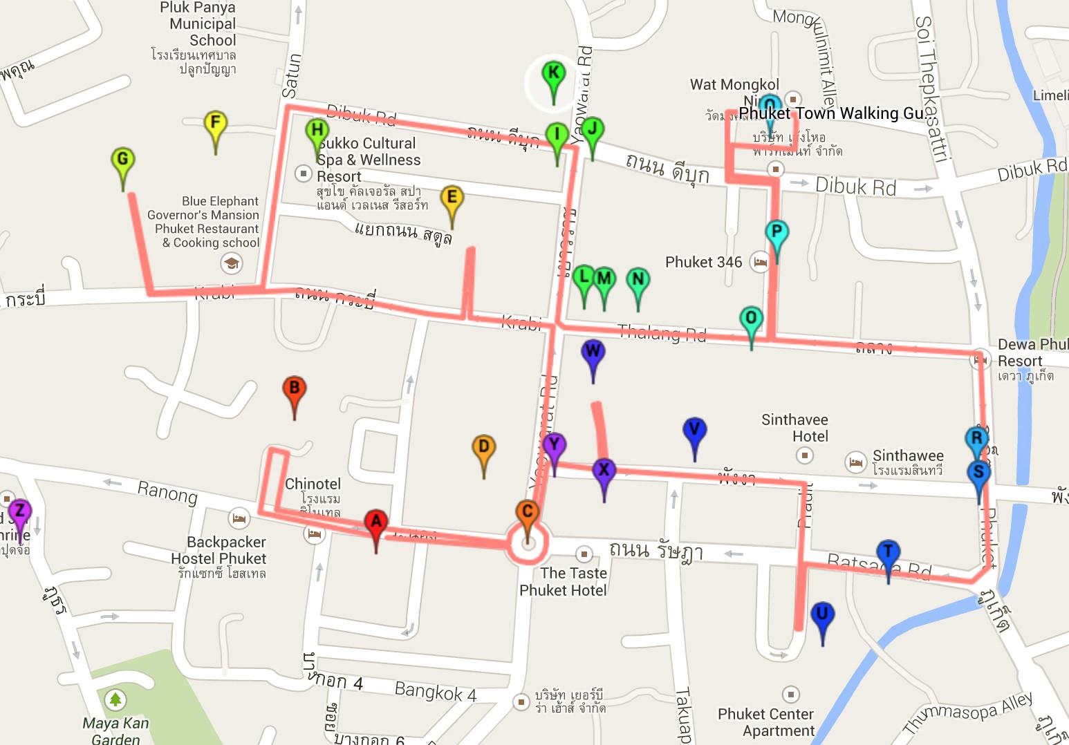 Phuket Town - A Walking Guide - Phuket 101