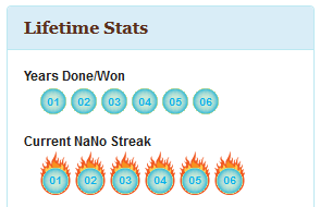 NaNoWriMo Statistics