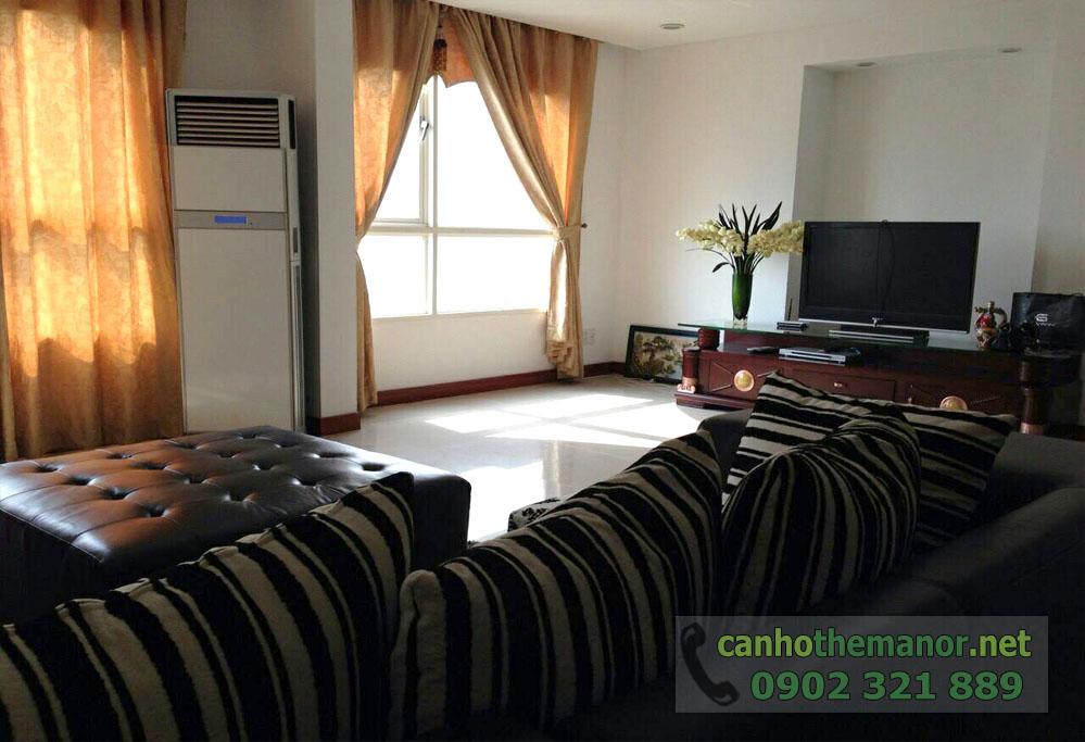 căn hộ cho thuê The Manor 124m2, 3PN - hình 2