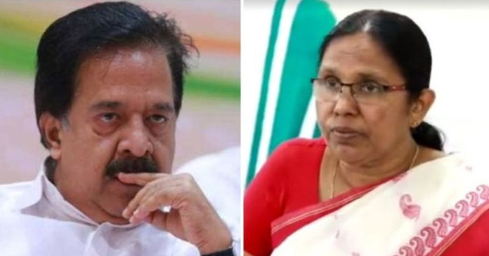 It's a battle to not die, let the stones go to its song; Health Minister replied to Chennithala,www.thekeralatimes.com