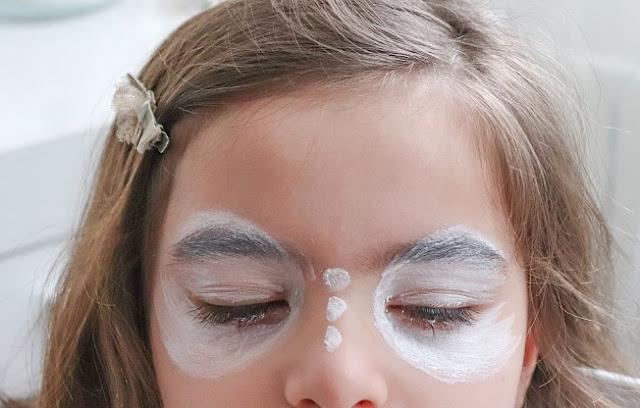 tuto maquillage papillon pour fille