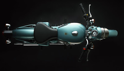 Top view of Royal Enfield Classic 500.