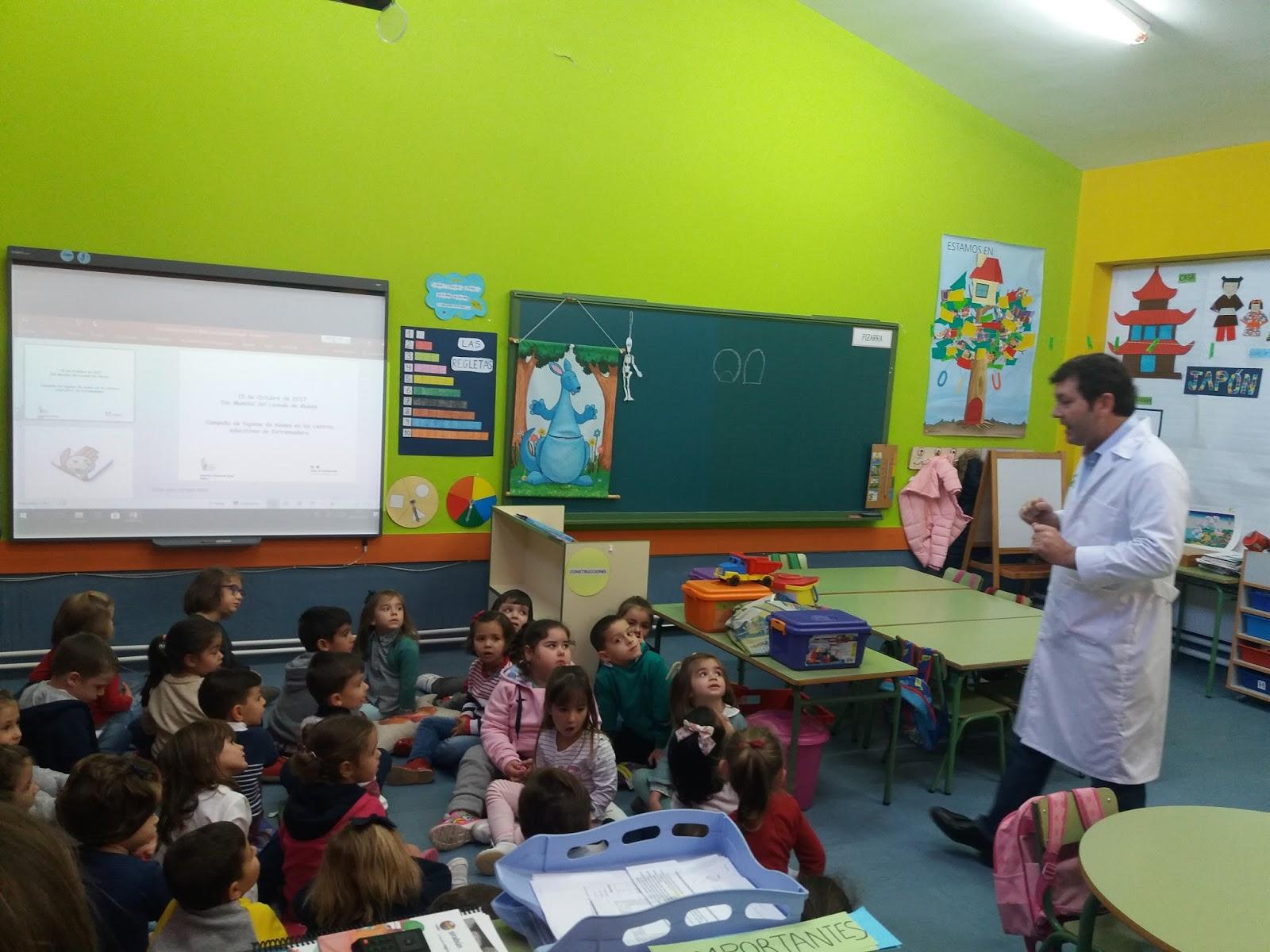 Educación Infantil : ¡¡NOS LAVAMOS LAS MANOS!!