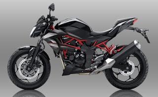 Bagi kalian yang suka dengan desain motor street fighter Harga Spesifikasi Kawasaki Z250SL ABS