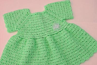 3 - Crochet Imagen Falda para bolero y canesú a crochet muy fácil y sencillo