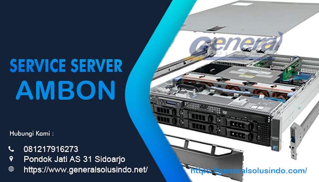 Service Server Ambon Resmi dan Terpercaya