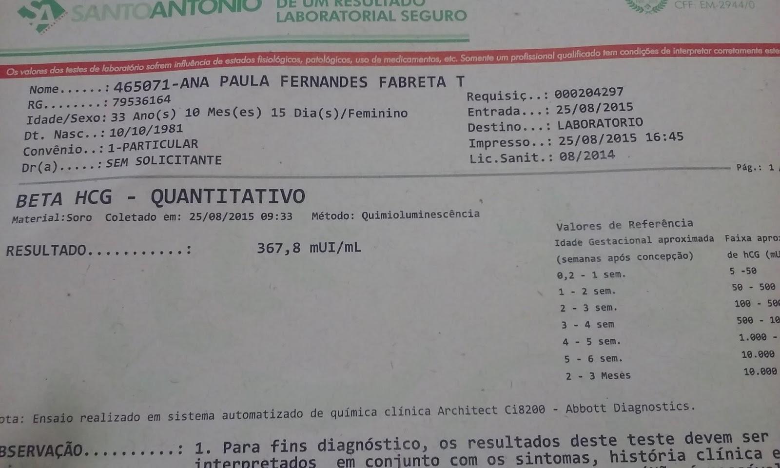 Exame De Beta Hcg Monografia Serviço Personalizado