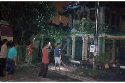 Galeri Batik Terbesar Di Banyuwangi Ludes Terbakar Kerugian Sekitar 1 milyar