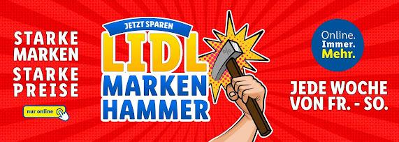 LIDL ONLINE SHOP Marken- Hammer der Woche