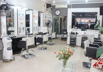 Nội thất Salon Tóc giá rẻ ở Thái Bình