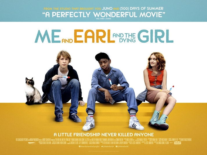 Póster: Me and Earl and The Dying Girl