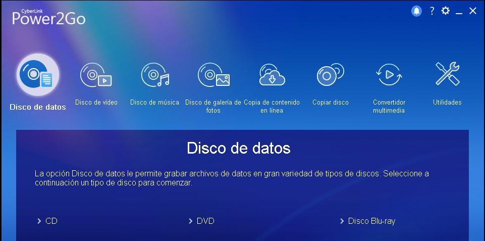 CyberLink Power2Go Platinum 13 Full Español