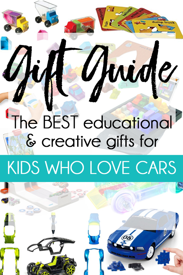 Gift ideas for kids who love cars